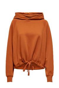 ONLY hoodie oranje, Oranje