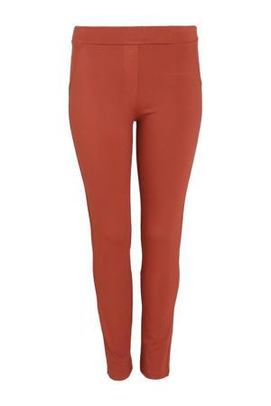 skinny broek oranje