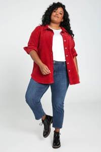 Paprika corduroy jasje rood, Rood