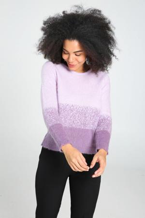 gebreide trui lila/violet/paars