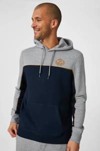 C&A Angelo Litrico hoodie met biologisch katoen donkerblauw, Donkerblauw