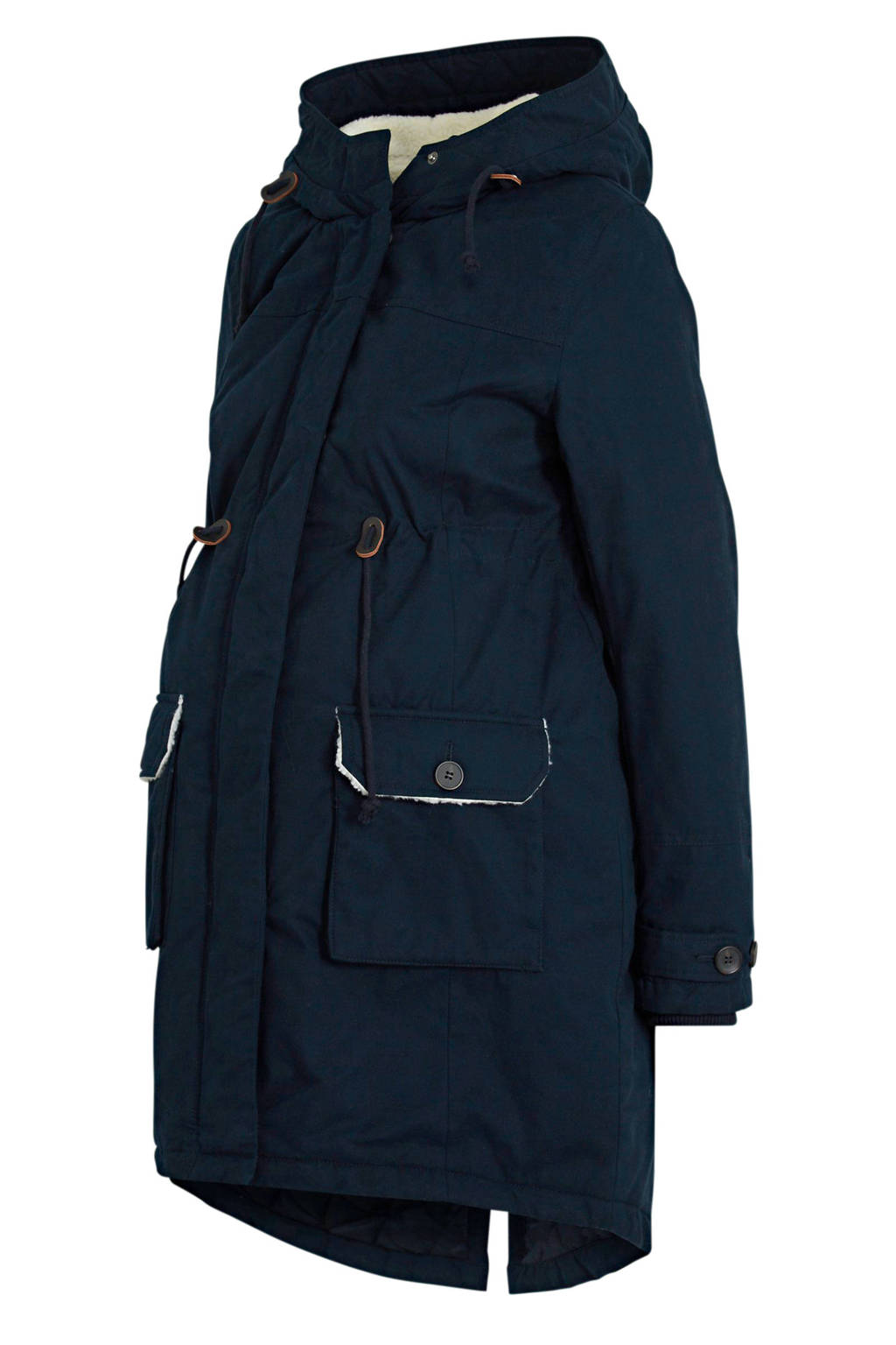 C&A Yessica zwangerschaps winterparka donkerblauw - draagjas, Donkerblauw