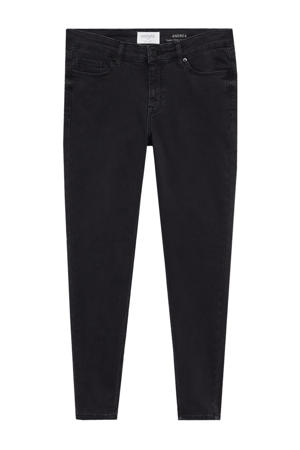low waist super skinny jeans Andrea black denim