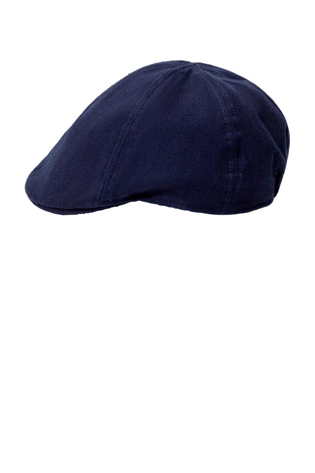 Mango Man flatcap donkerblauw, Marine