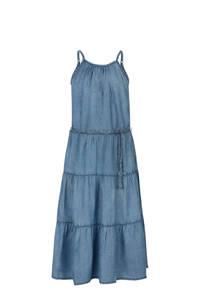 Jill & Mitch by Shoeby halter maxi jurk Fabia blauw, Blauw