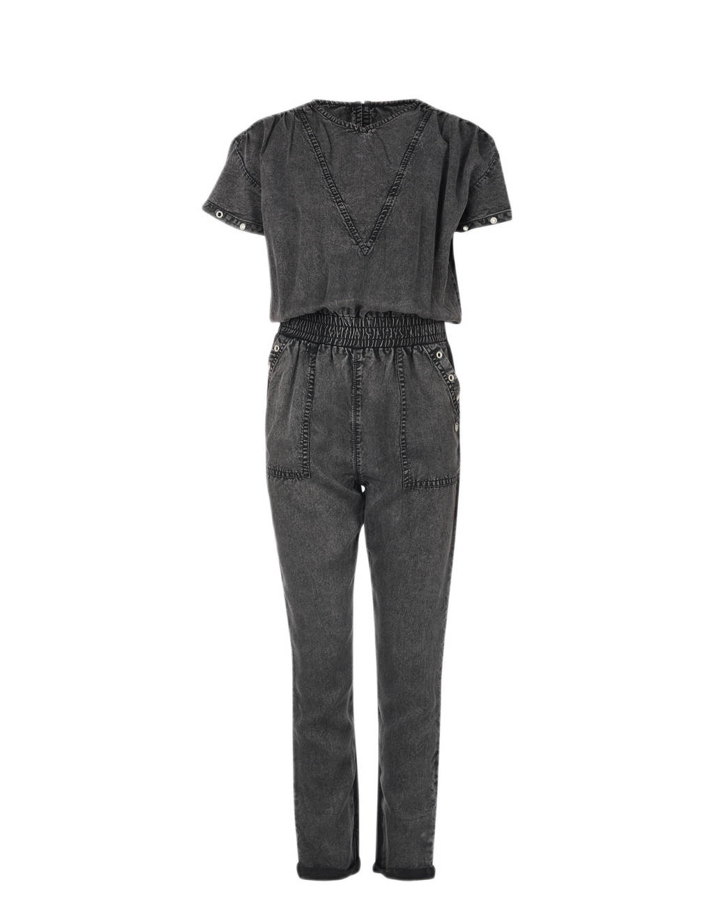 Jill & Mitch by Shoeby jumpsuit Fuji antraciet, Antraciet