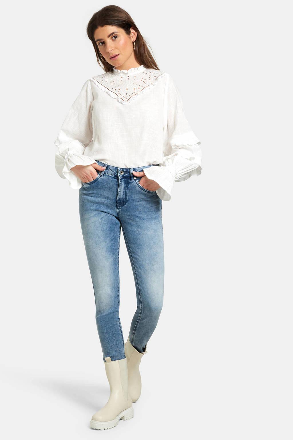 Eksept by Shoeby Liza Edith Skinny Jeans L32 light denim, Light denim