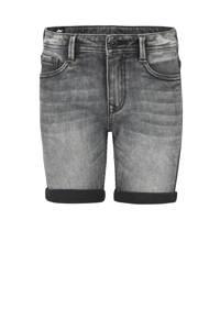 Jill & Mitch by Shoeby regular fit jeans bermuda Luca zwart, Zwart