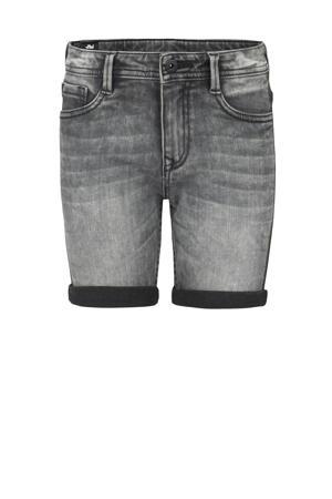 regular fit jeans bermuda Luca zwart