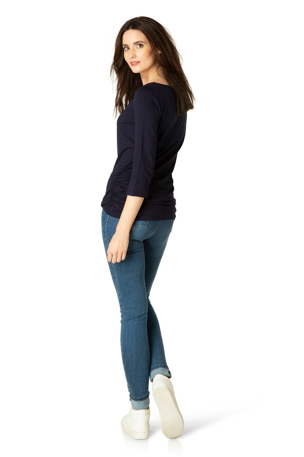 ES&SY top donkerblauw, Donkerblauw