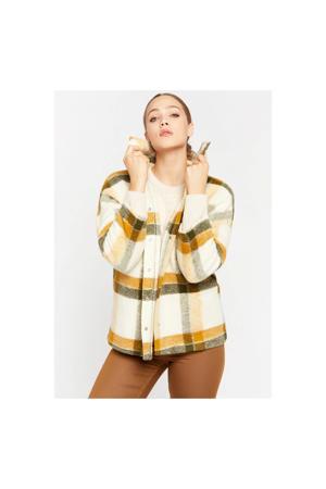 geruite  coat yellow ocher