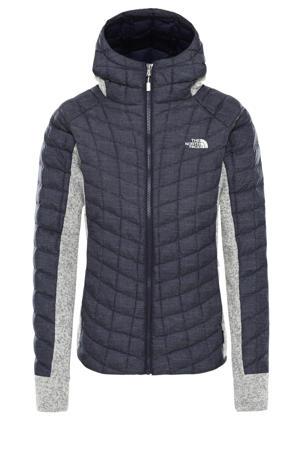 fleece vest blauw/grijs