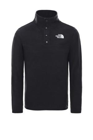 fleece sweater Glacier zwart
