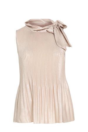 top met glitters roze gold