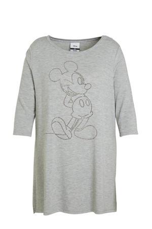 gemêleerd Mickey Mouse T-shirt grijs