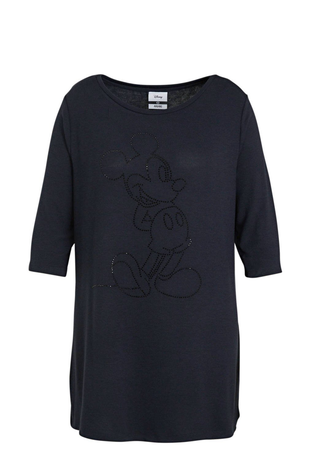 Disney @ C&A gemêleerd Mickey Mouse T-shirt donkerblauw, Donkerblauw