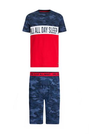shortama rood/wit/blauw