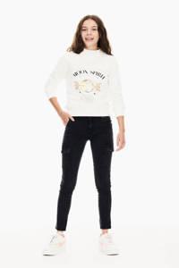 Garcia sweater met printopdruk offwhite, Offwhite