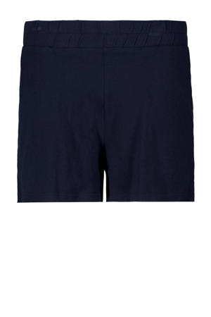 short donkerblauw