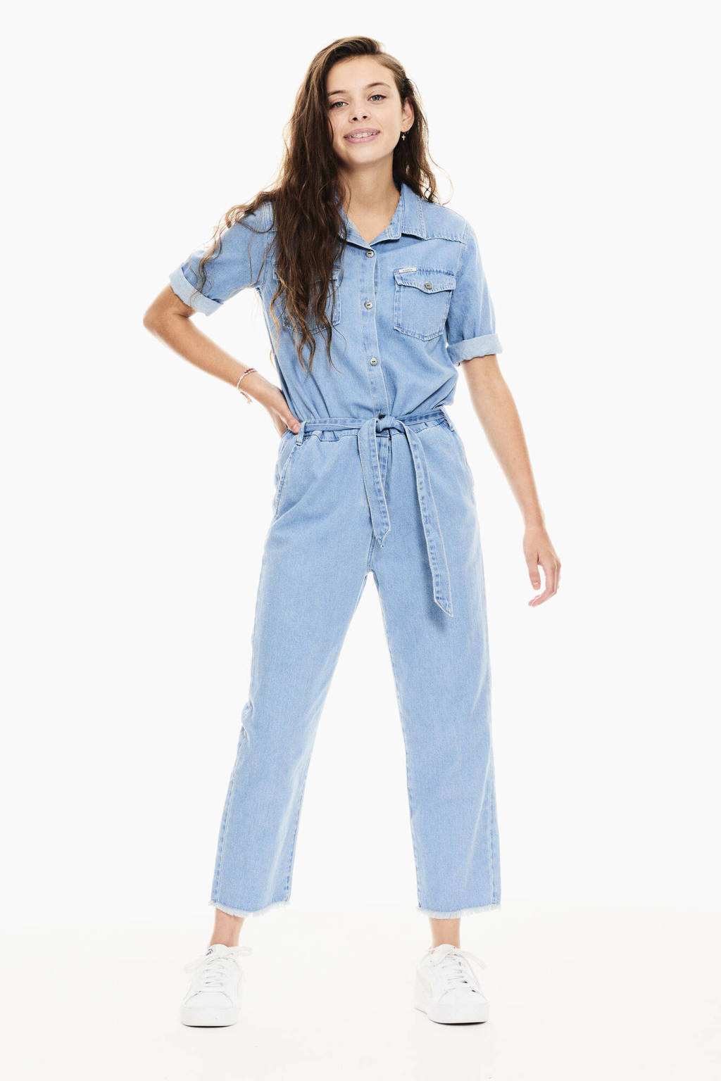 Garcia denim look jumpsuit Medium Used, Medium used