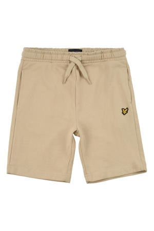 regular fit sweatshort beige