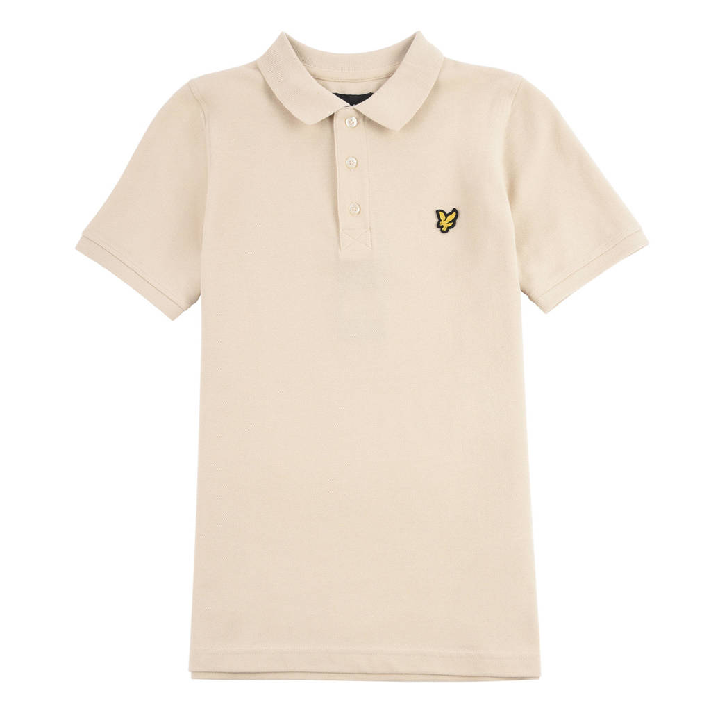 Lyle & Scott polo beige, Beige