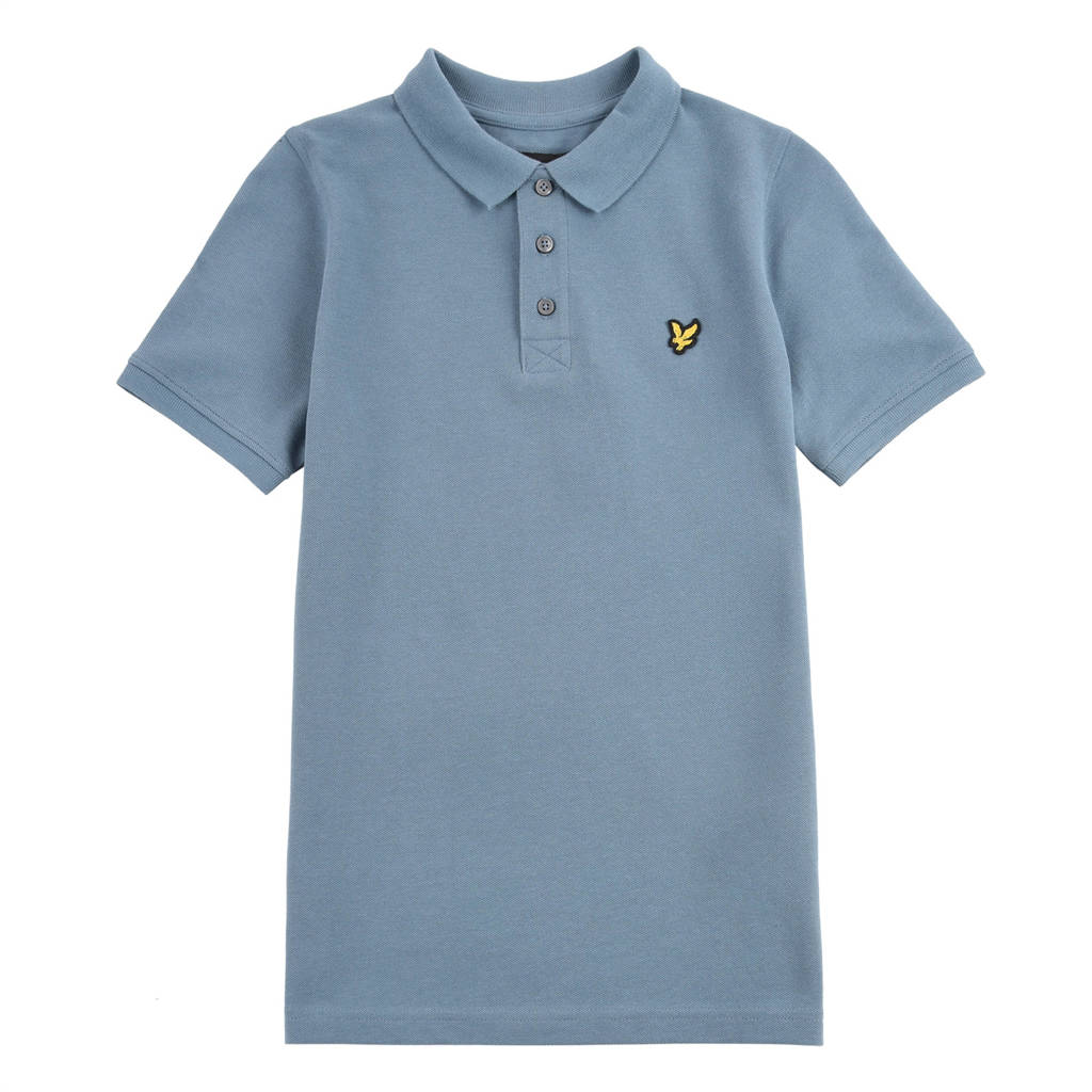Lyle & Scott polo blauw, Blauw