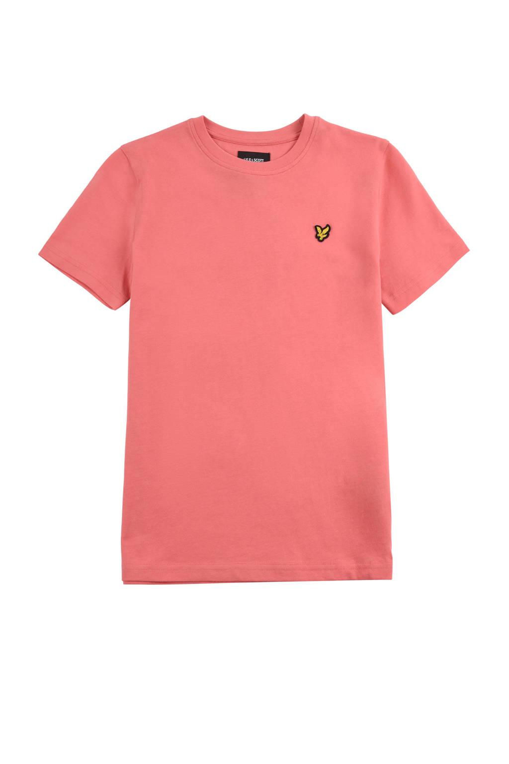 Lyle & Scott T-shirt roze, Roze
