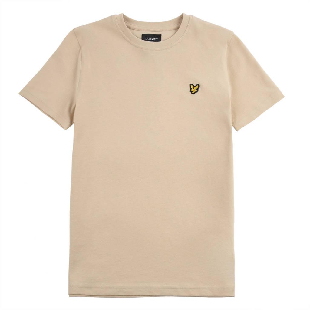 Lyle & Scott T-shirt zand, Zand