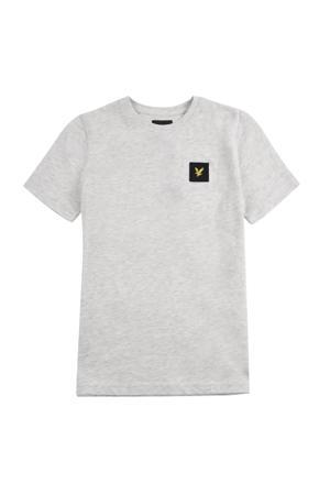 gemêleerd T-shirt grijs melange