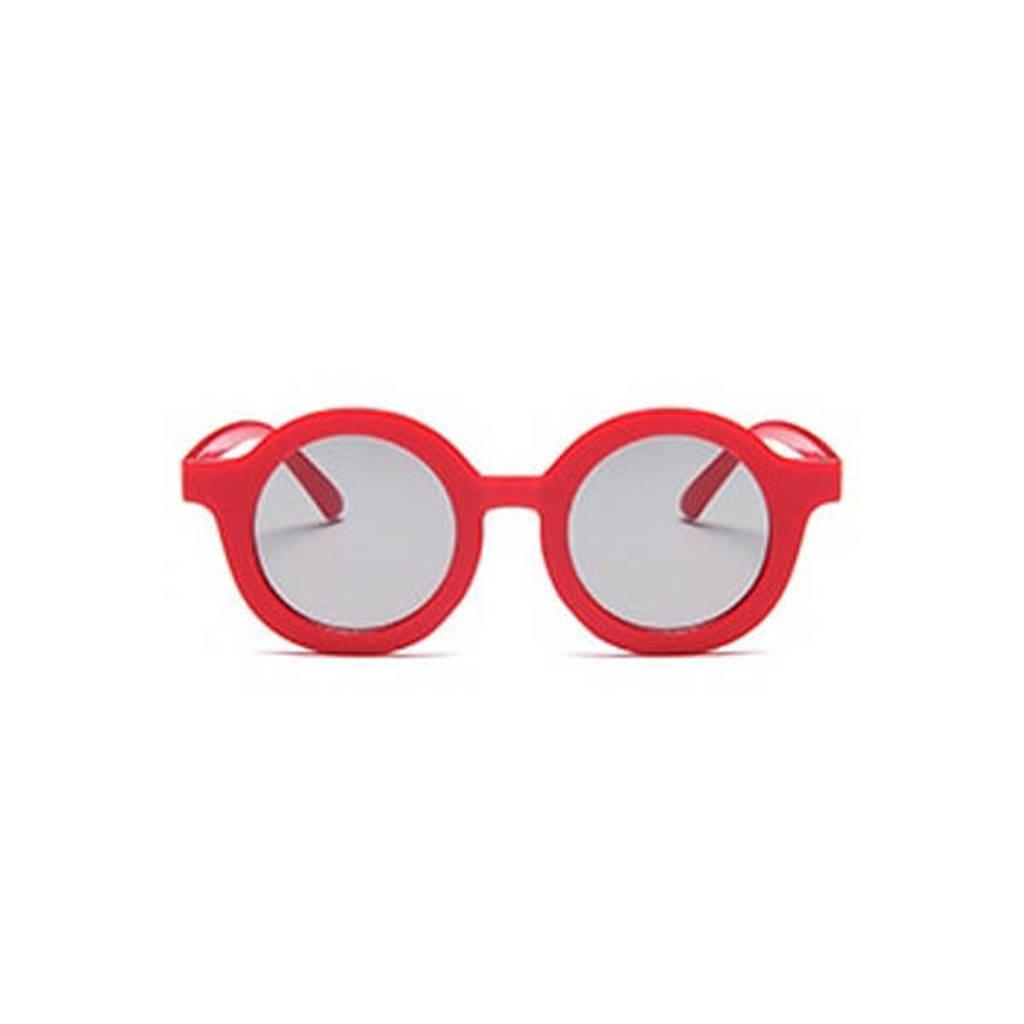 Little Indians zonnebril uni rood
