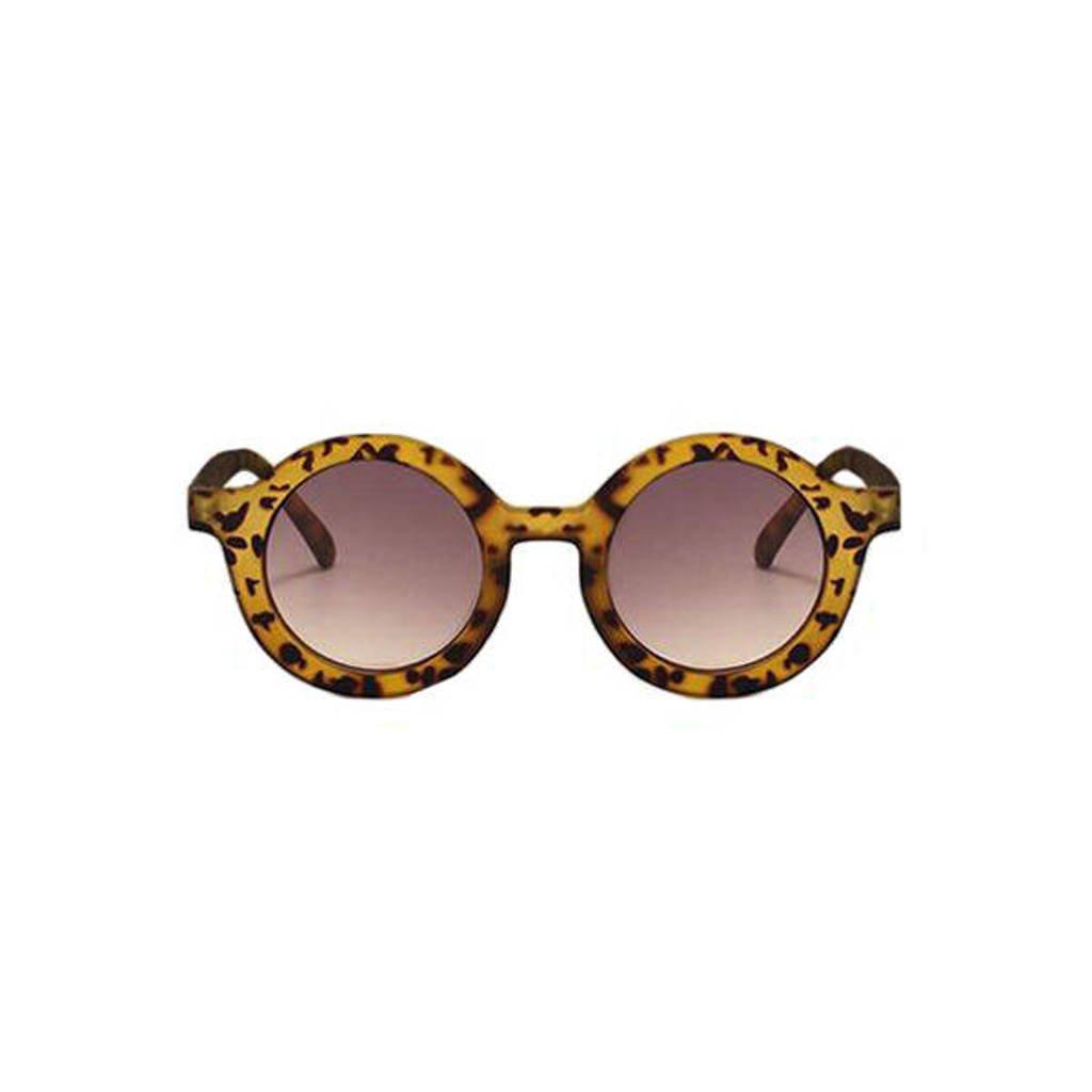 Little Indians zonnebril dierenprint beige/bruin