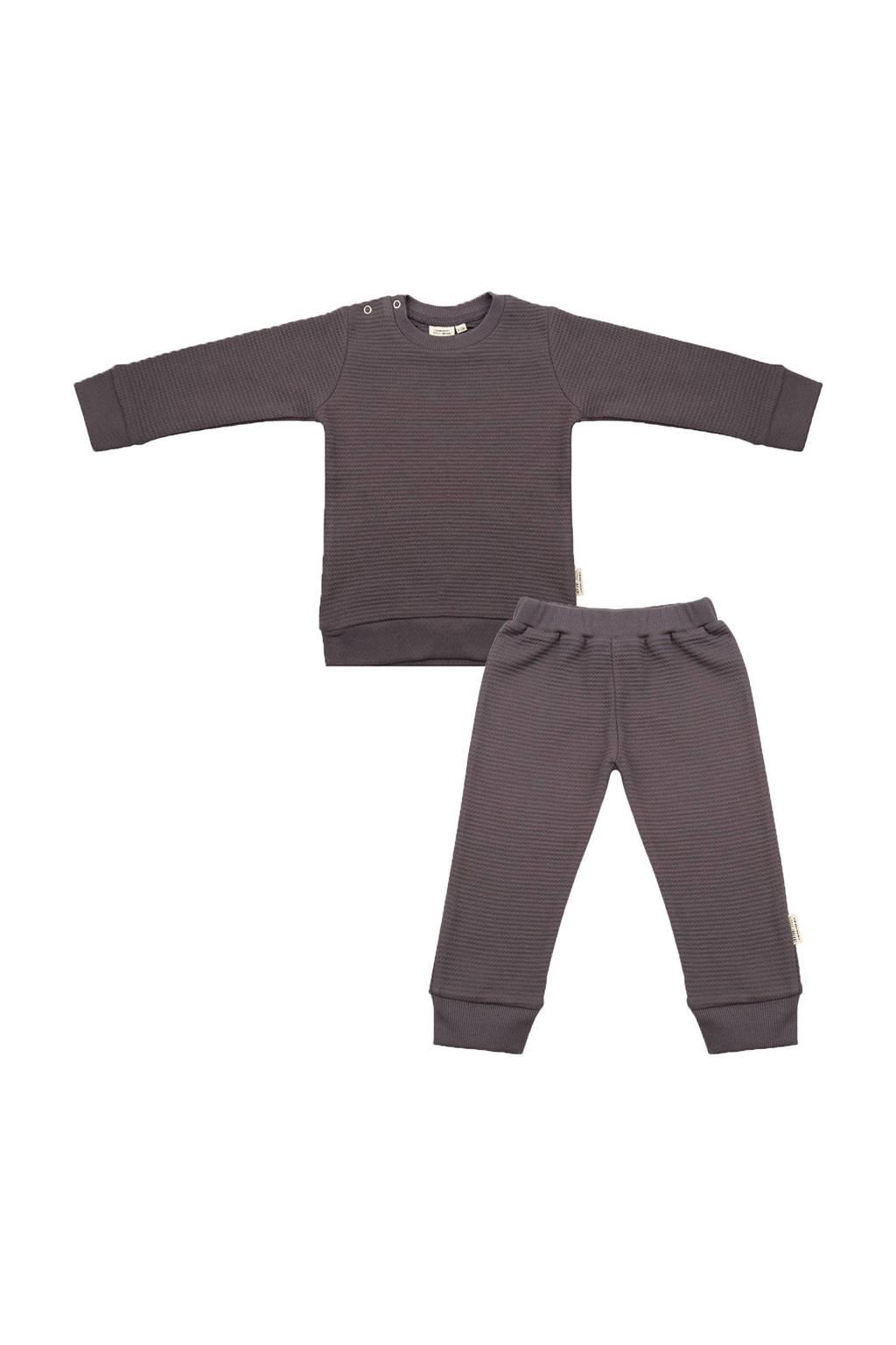 Little Indians   pyjama antraciet, Antraciet