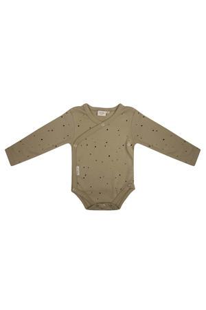 newborn baby romper lange mouwen Dots - Sponge