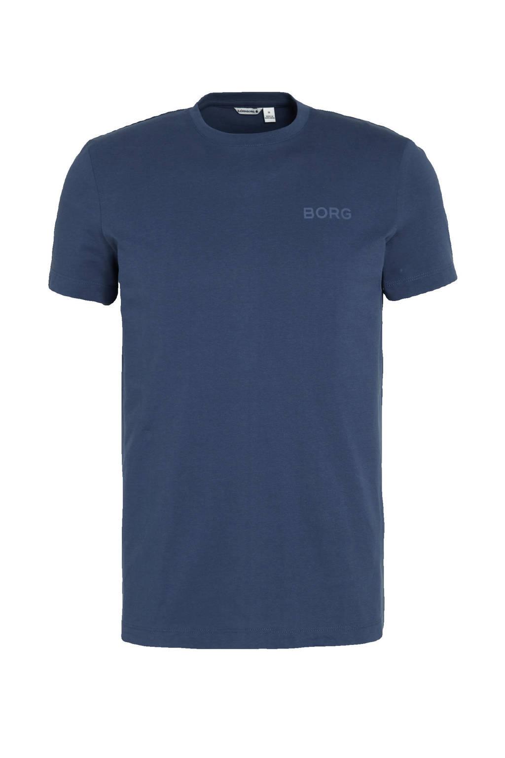 Björn Borg   sport T-shirt donkerblauw, Donkerblauw