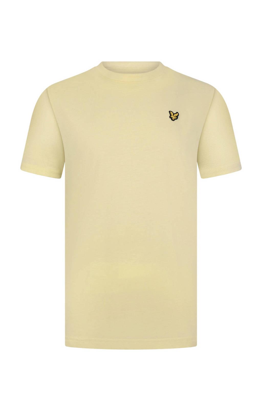 Lyle & Scott T-shirt lichtgeel, Lichtgeel