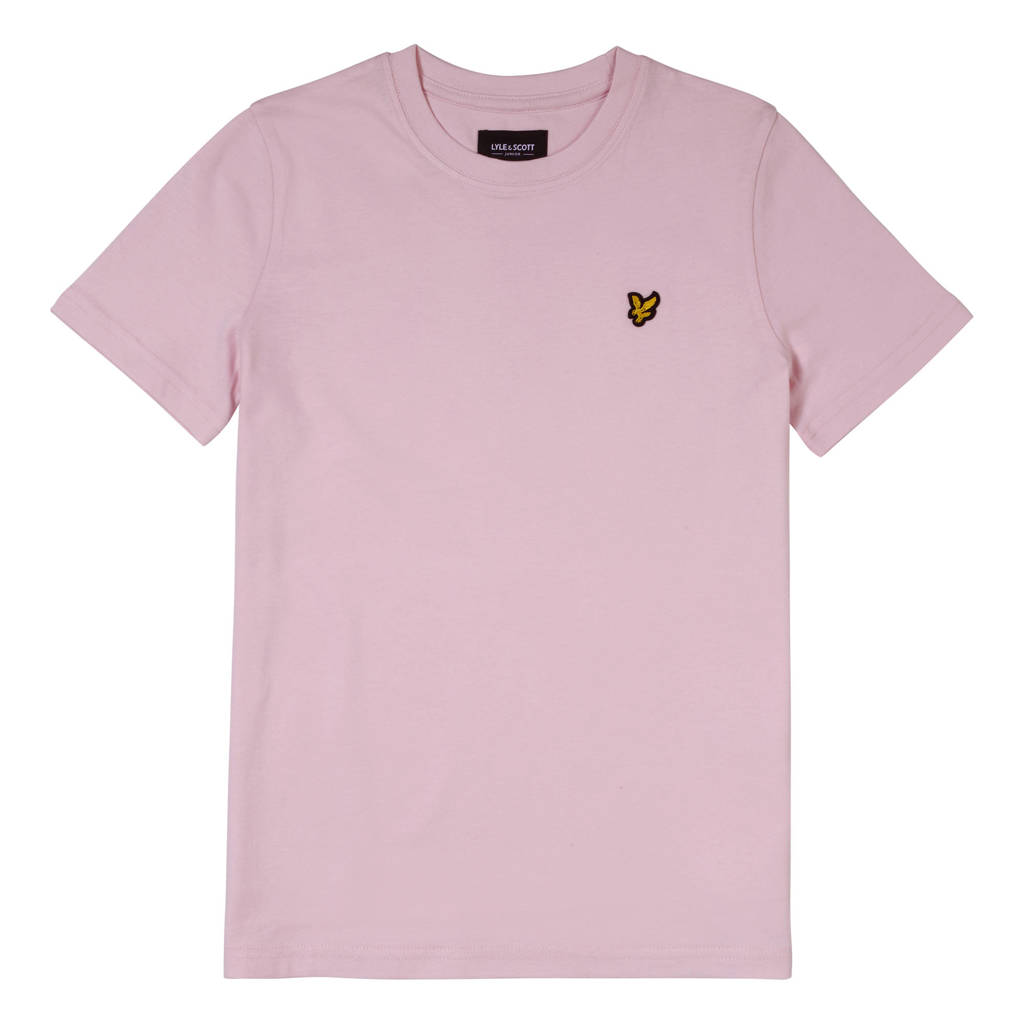 Lyle & Scott T-shirt lichtroze, Lichtroze
