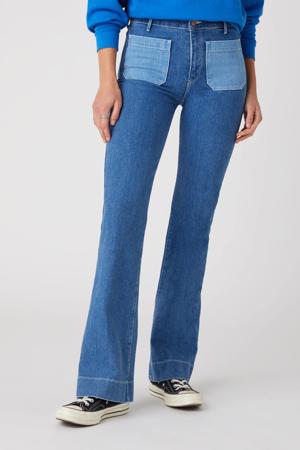 high waist flared jeans dancing queen