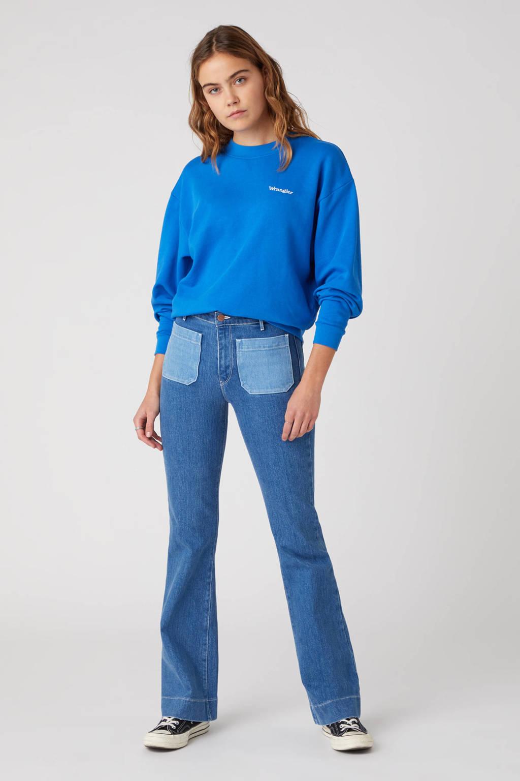 Wrangler high waist flared jeans dancing queen, Dancing Queen