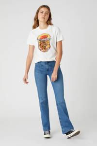 Wrangler T-shirt van biologisch katoen wit, Wit