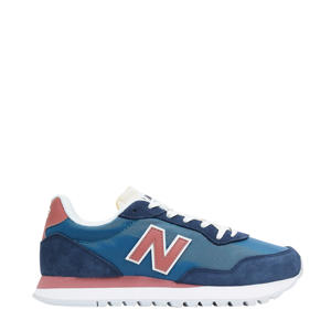 527  sneakers blauw/roze