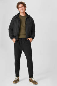 C&A Angelo Litrico slim fit joggingbroek zwart, Zwart