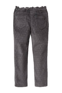 C&A skinny broek met all over print grijs, Grijs