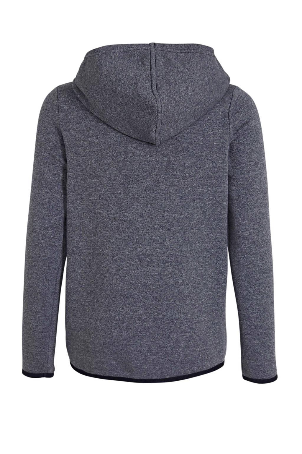 s.Oliver gemêleerde hoodie marine, Marine