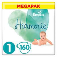 Pampers Harmonie Harmonie Megapack Maat 1 (2-5kg) 160 luiers, 1 (2-5 kg)