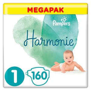 Harmonie Megapack Maat 1 (2-5kg) 160 luiers