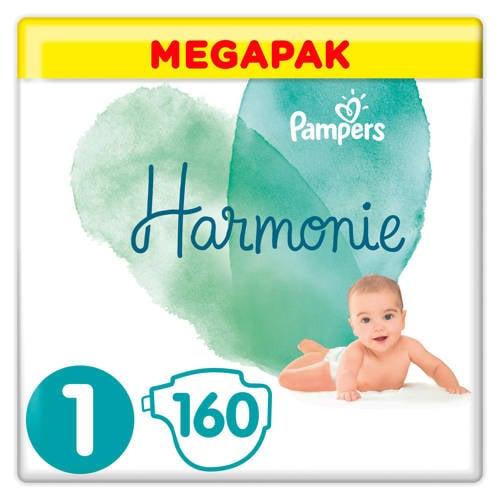 Wehkamp-Pampers Harmonie Harmonie Megapack Maat 1 (2-5kg) 160 luiers-aanbieding