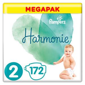Harmonie Megapack Maat 2 (4-8kg) 172 luiers