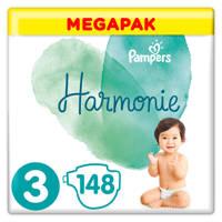 Pampers Harmonie Harmonie Megapack Maat 3 (6-10kg) 148 luiers, 3 (6-10 kg)