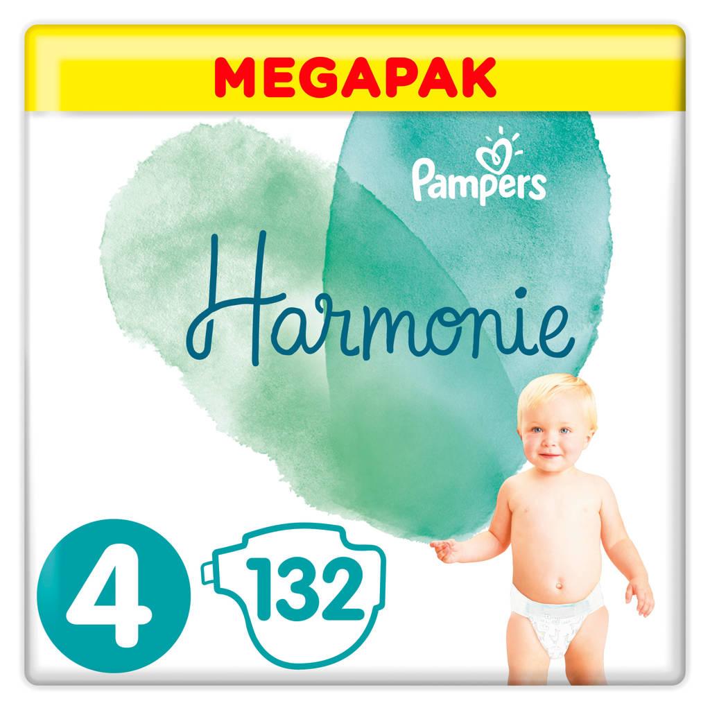 Pampers Harmonie Harmonie Megapack Maat 4 (9-14kg) 132 luiers, 4 (9-14 kg)